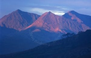 Sunrise on the Snowdon Horseshoe