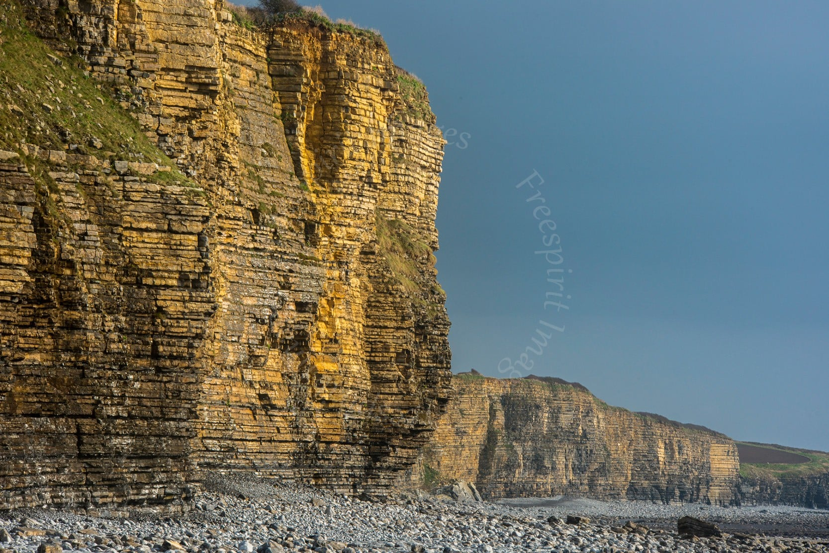 Llantwit Major Beach Cliffs