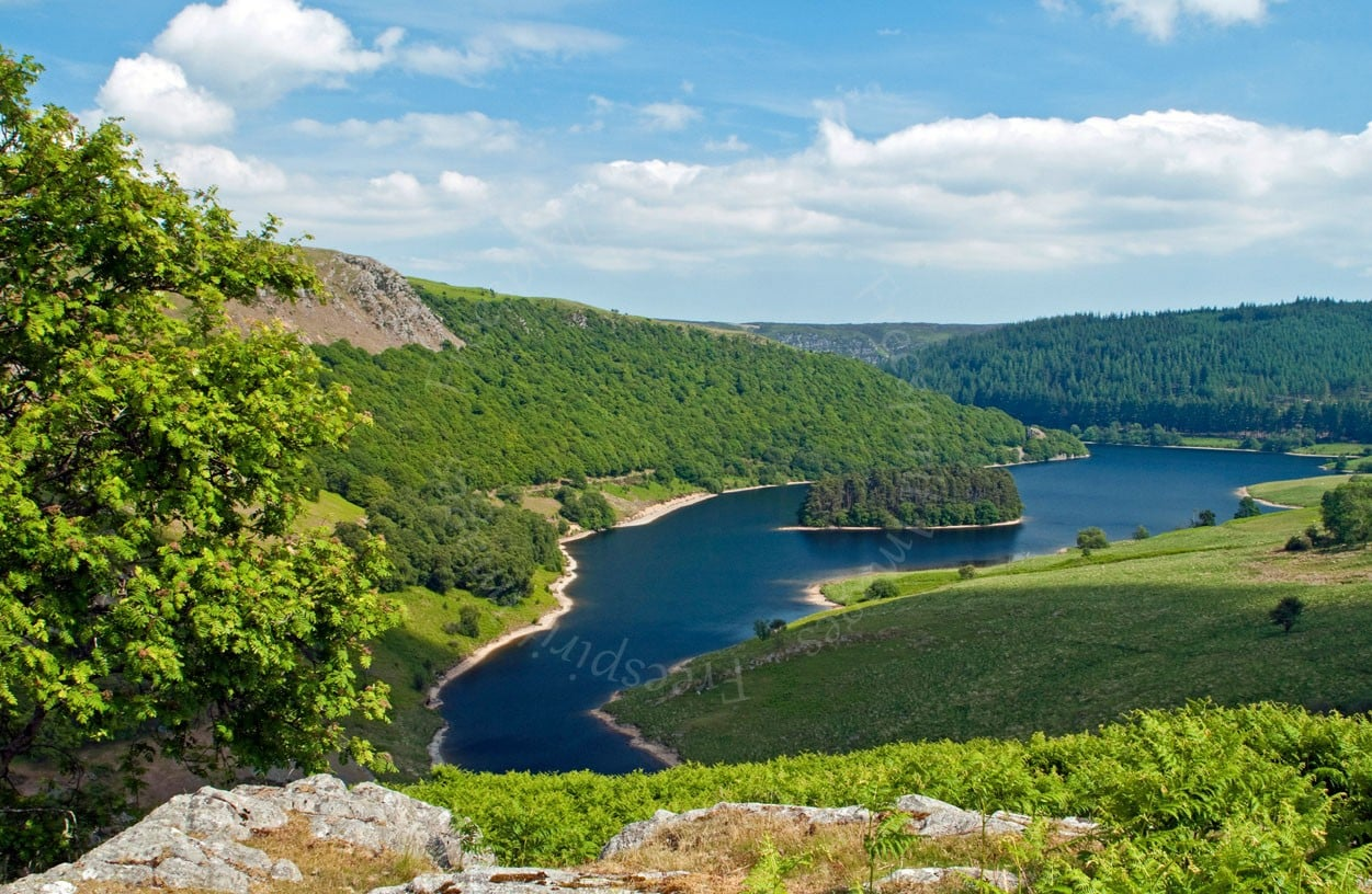 Penygarreg Reservoir Elan Valley
