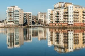 Reflections at Cardiff Bay