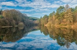 Clydach Reservoir in the LLanwonno Forest