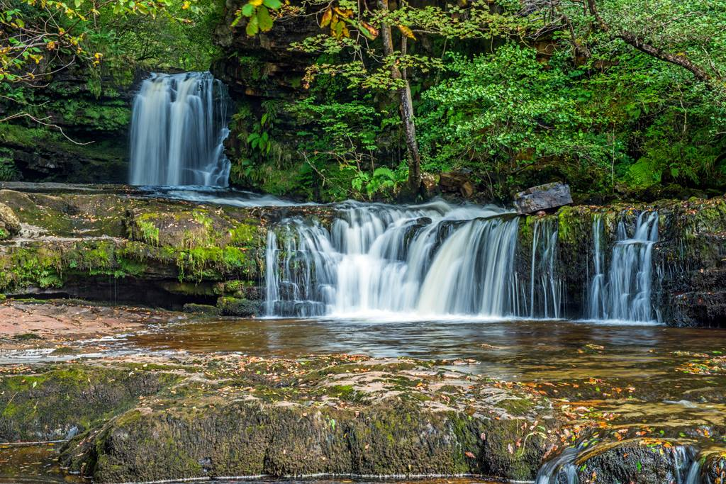 Vale of Neath Waterfall